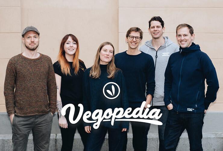 Bild på teamet bakom Vegopedia
